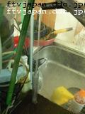 底面フィルターに直接水をww