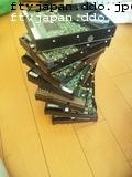 7台のHDD