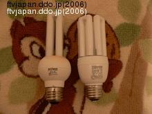 21Wタイプの電球型蛍光灯
